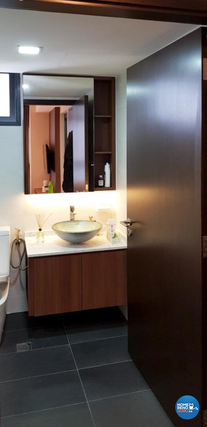 Industrial, Resort Design - Bathroom - Condominium - Design by Sky Creation