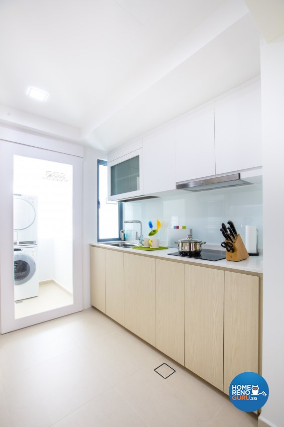 Minimalist Design - Kitchen - Condominium - Design by Sky Creation