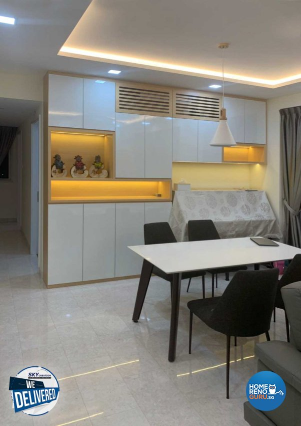 Minimalist Design - Dining Room - Condominium - Design by Sky Creation