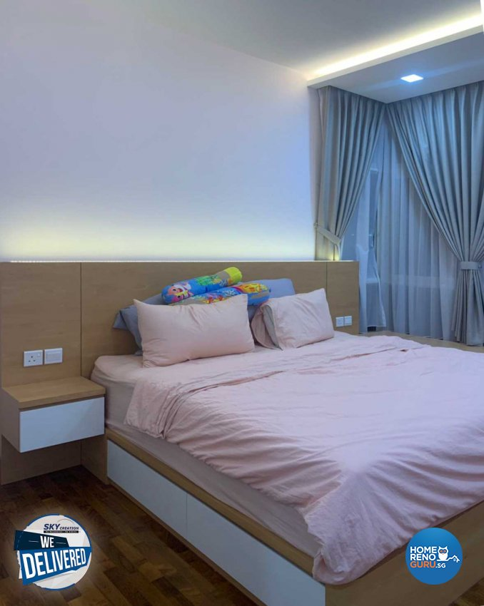 Minimalist Design - Bedroom - Condominium - Design by Sky Creation