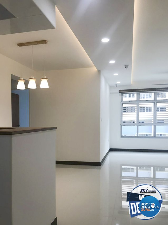 4 Room Hdb Design: Sky Creation Hdb 4 Room Bedok North 5691