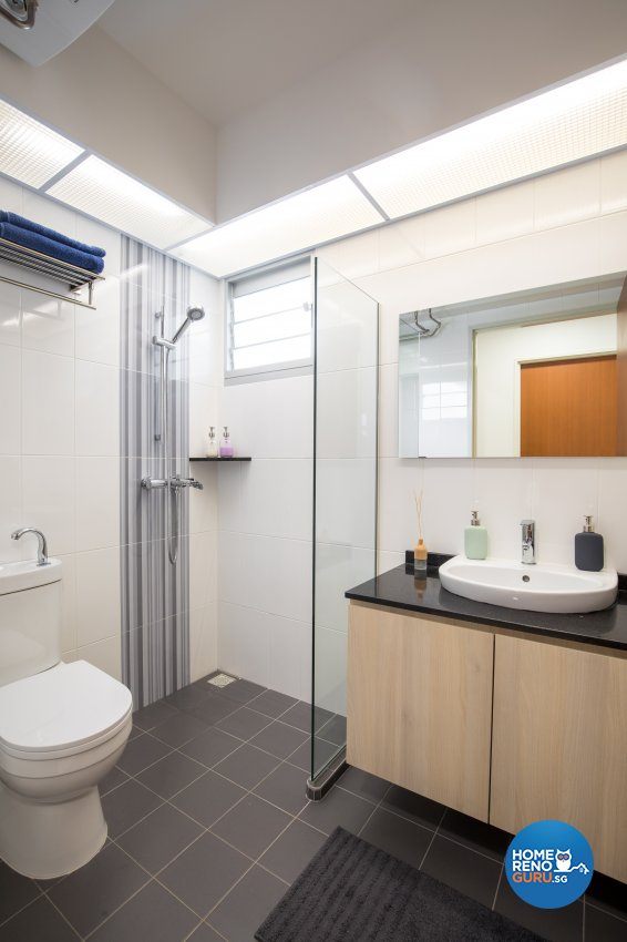 Minimalist Design - Bathroom - HDB 4 Room - Design by Sky Creation