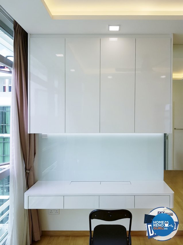 Minimalist Design - Study Room - Condominium - Design by Sky Creation
