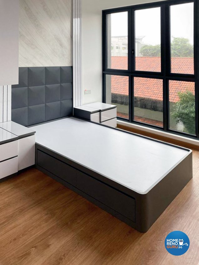 Classical, Modern Design - Bedroom - Condominium - Design by Sky Creation