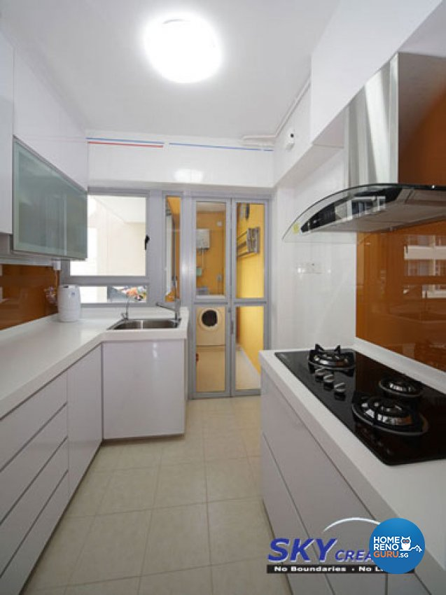 Sky Creation-Kitchen and Bathroom package