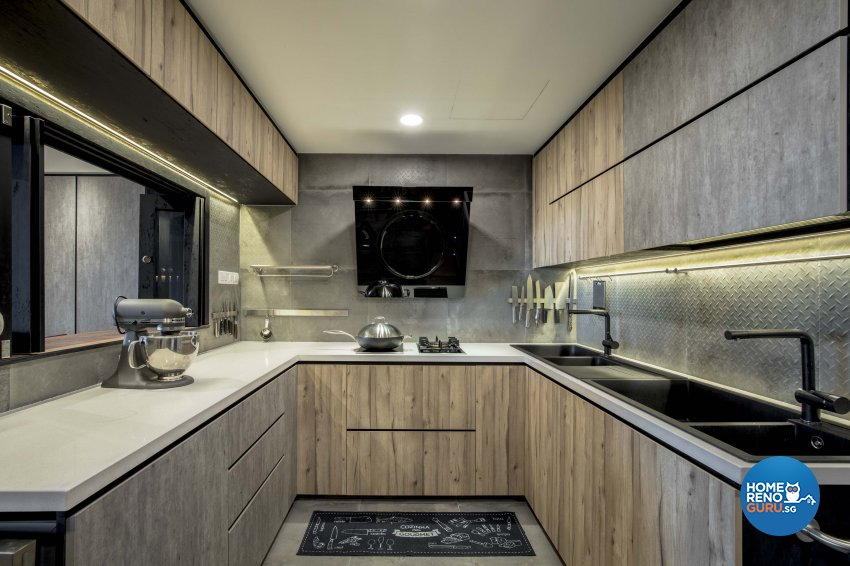 Industrial Design - Kitchen - Condominium - Design by Sky Creation