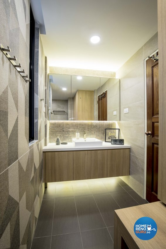 Industrial Design - Bathroom - Condominium - Design by Sky Creation