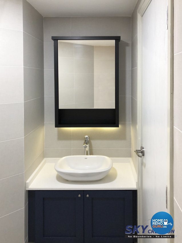 Modern Design - Bathroom - Condominium - Design by Sky Creation