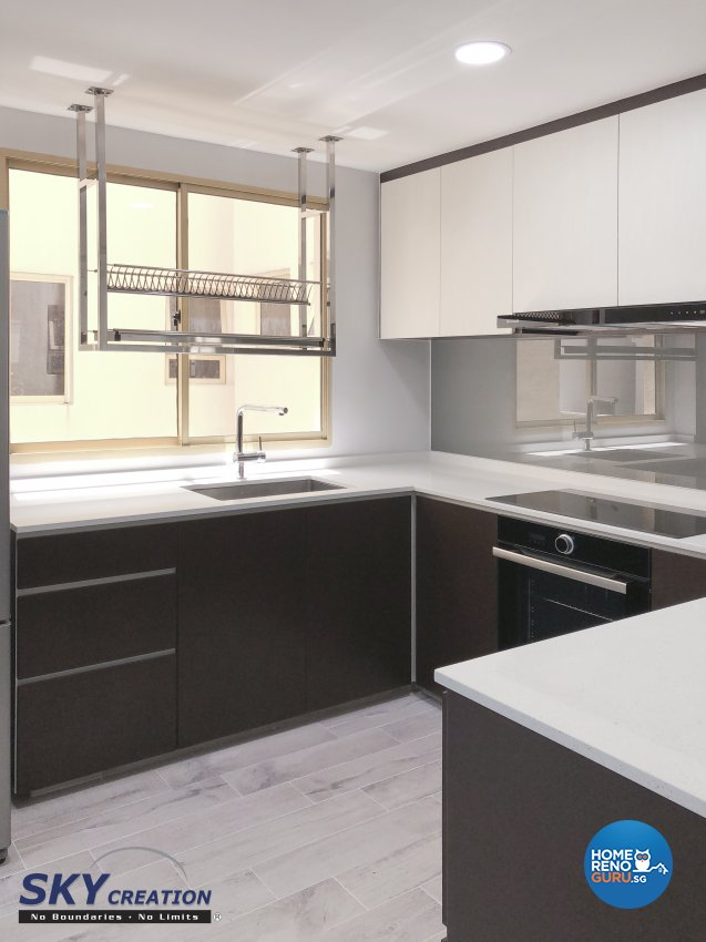Modern Design - Kitchen - Condominium - Design by Sky Creation