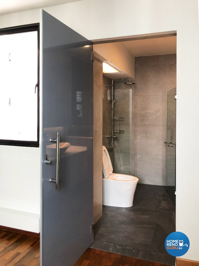 Modern Design - Bathroom - HDB 4 Room - Design by Sky Creation