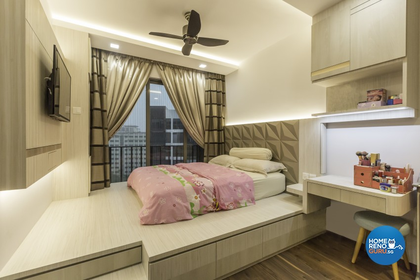 Contemporary, Modern Design - Bedroom - Condominium - Design by Sky Creation