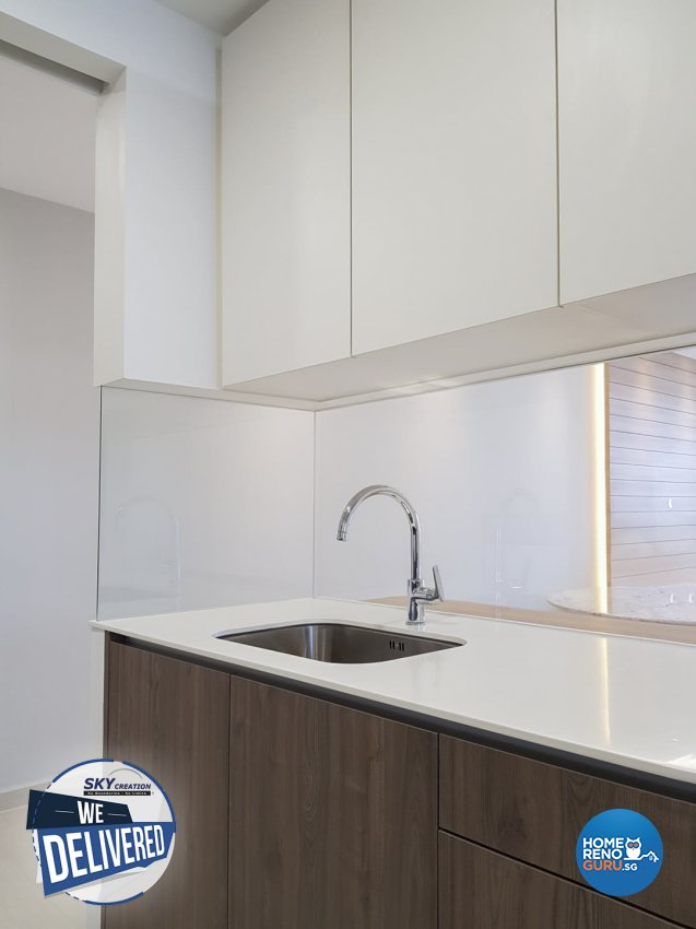 Scandinavian Design - Kitchen - Condominium - Design by Sky Creation