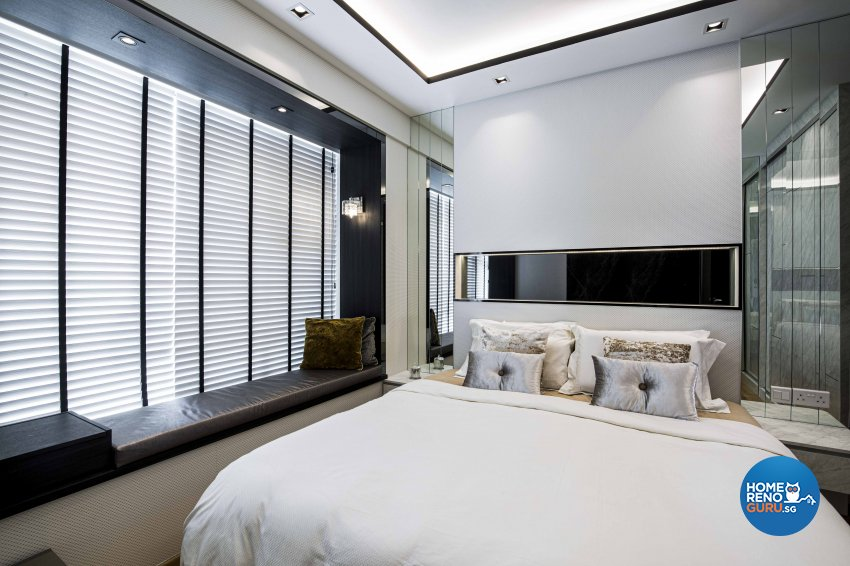 Contemporary Design - Bedroom - Condominium - Design by Sky Creation