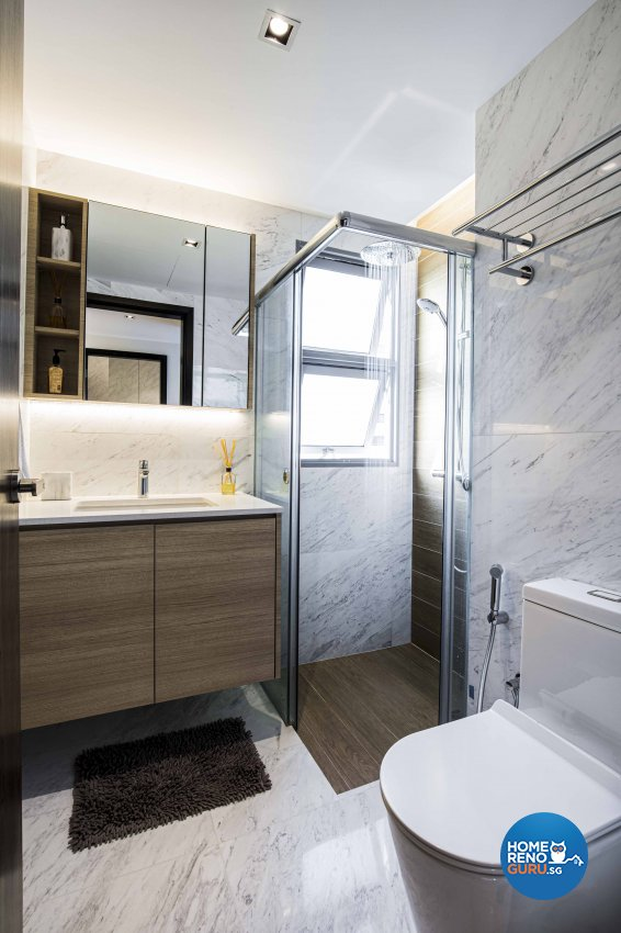 Contemporary Design - Bathroom - Condominium - Design by Sky Creation