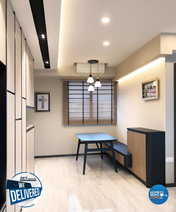Scandinavian Design - Dining Room - Condominium - Design by Sky Creation