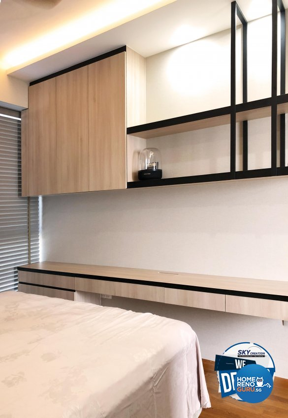 Scandinavian Design - Bedroom - Condominium - Design by Sky Creation