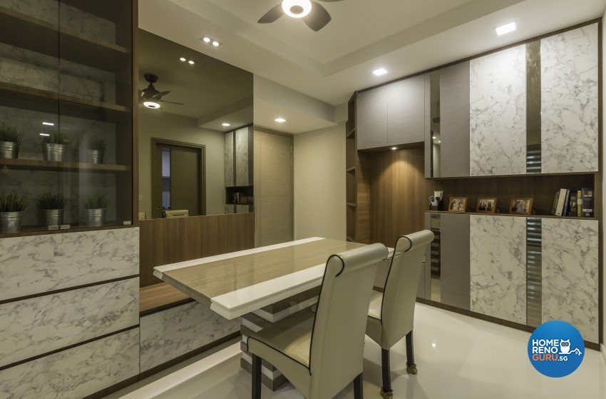Contemporary, Modern Design - Dining Room - Condominium - Design by Sky Creation