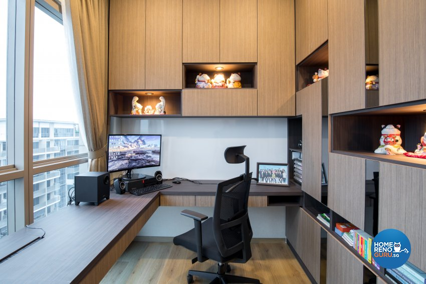 Modern Design - Study Room - HDB Executive Apartment - Design by Sky Creation