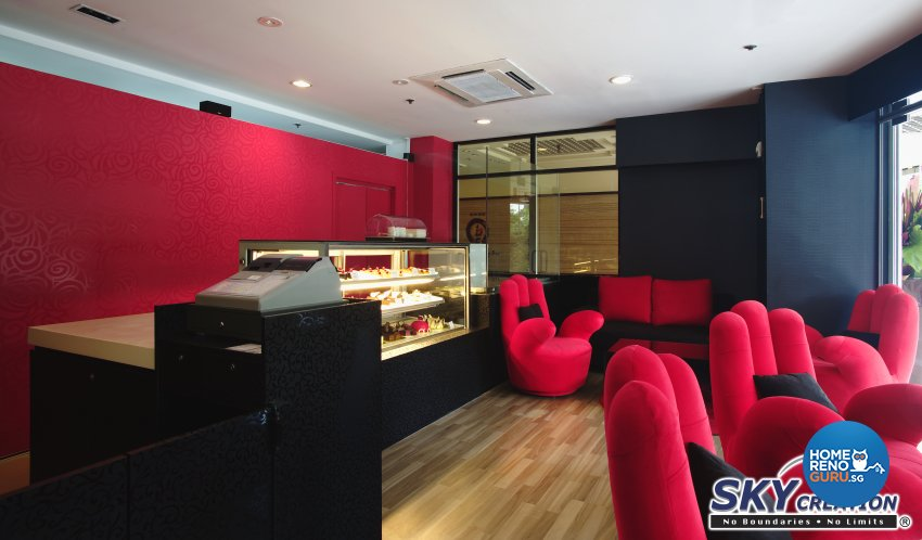 Modern Design - Commercial - F&B - Design by Sky Creation