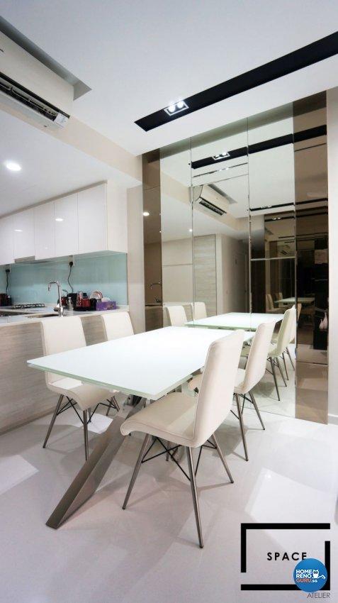 Contemporary, Modern Design - Dining Room - Condominium - Design by Space Atelier Pte Ltd