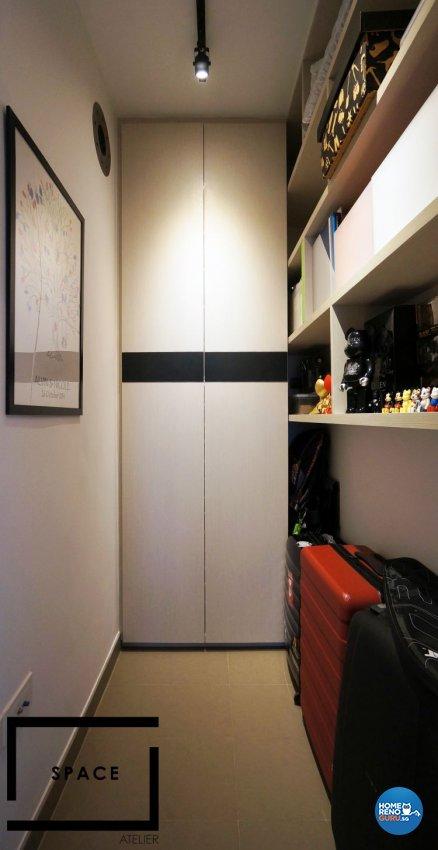 Contemporary, Modern Design - Bedroom - Condominium - Design by Space Atelier Pte Ltd
