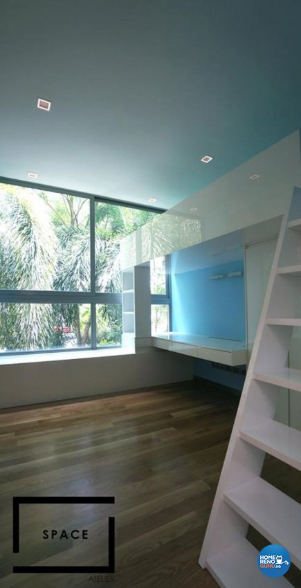 Contemporary, Modern Design - Bedroom - Landed House - Design by Space Atelier Pte Ltd