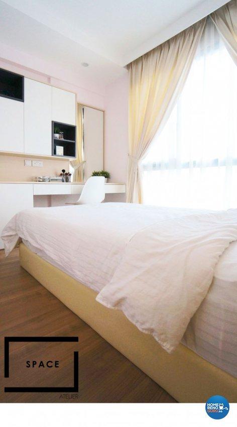 Minimalist, Modern, Scandinavian Design - Bedroom - Condominium - Design by Space Atelier Pte Ltd