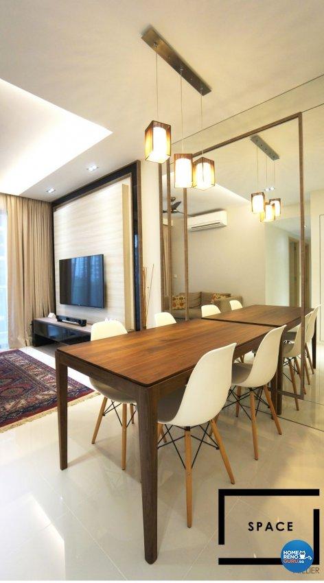 Minimalist, Modern, Scandinavian Design - Living Room - Condominium - Design by Space Atelier Pte Ltd