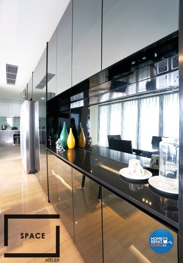 Contemporary, Modern, Scandinavian Design - Kitchen - Condominium - Design by Space Atelier Pte Ltd