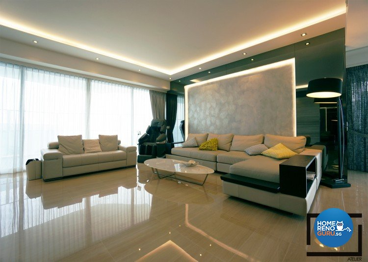Contemporary, Modern, Scandinavian Design - Living Room - Condominium - Design by Space Atelier Pte Ltd