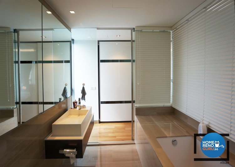 Contemporary, Modern, Scandinavian Design - Bathroom - Condominium - Design by Space Atelier Pte Ltd