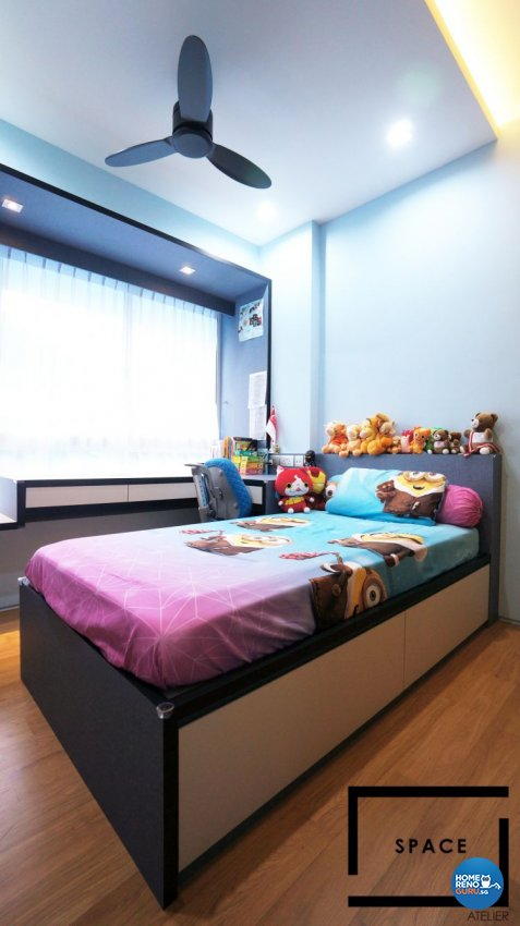 Contemporary, Modern Design - Bedroom - Condominium - Design by Space Atelier Pte Ltd