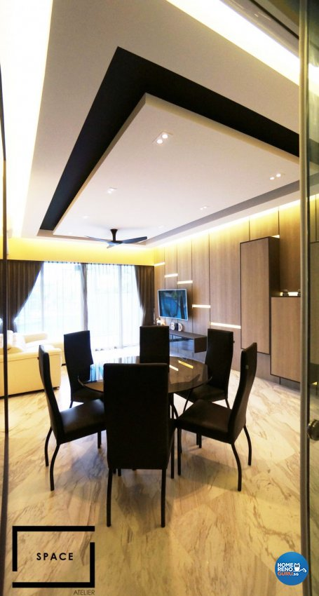 Contemporary, Modern Design - Dining Room - Condominium - Design by Space Atelier Pte Ltd