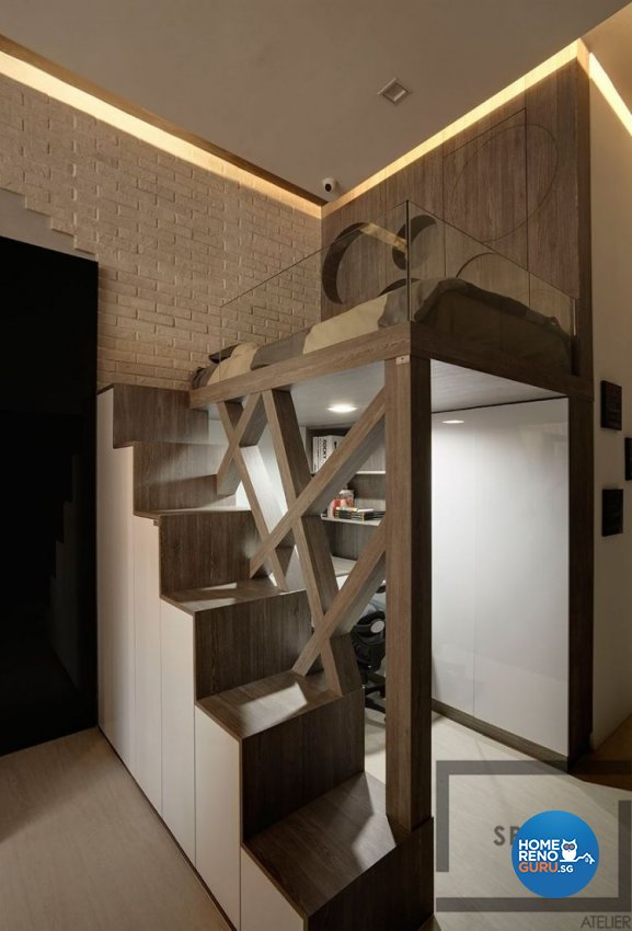 Modern, Scandinavian Design - Bedroom - Office - Design by Space Atelier Pte Ltd
