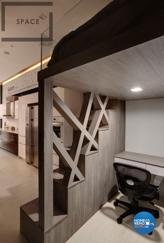 Modern, Scandinavian Design - Study Room - Office - Design by Space Atelier Pte Ltd