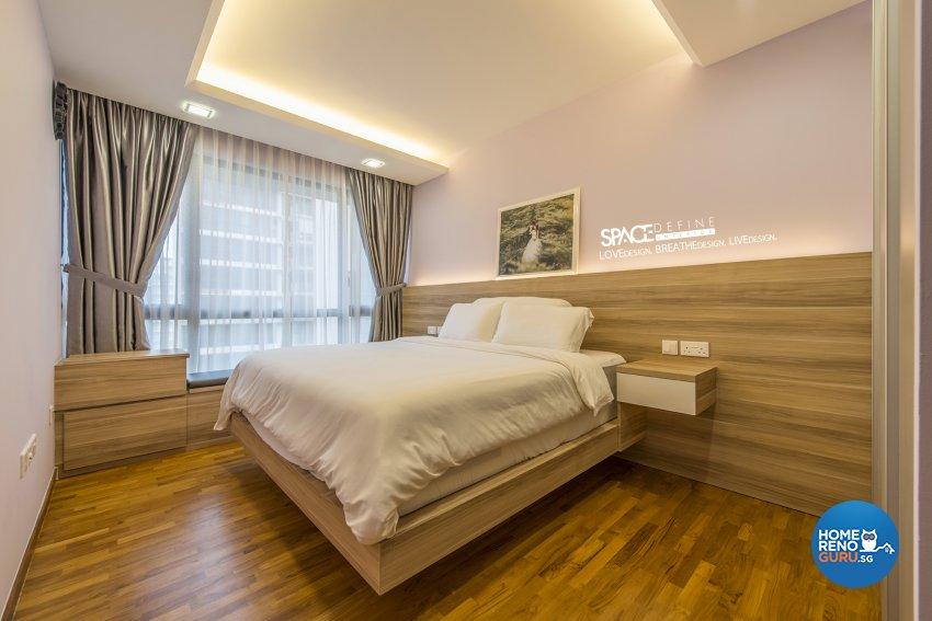 Contemporary, Modern Design - Bedroom - Condominium - Design by Space Define Interior