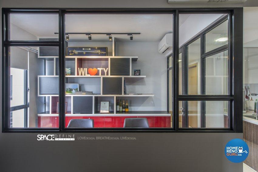 Contemporary, Modern Design - Study Room - Condominium - Design by Space Define Interior