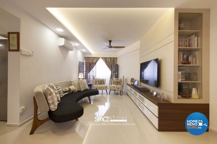 Contemporary Design - Living Room - Others - Design by Space Define Interior