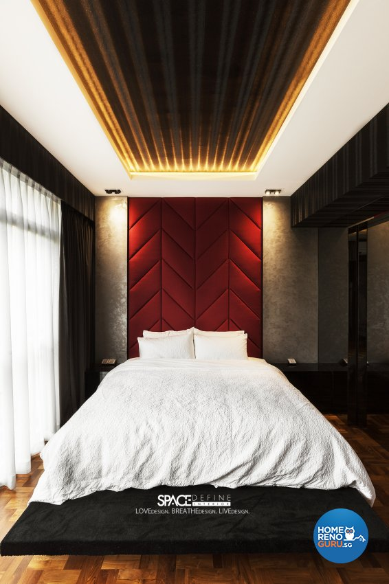 Modern Design - Bedroom - Condominium - Design by Space Define Interior
