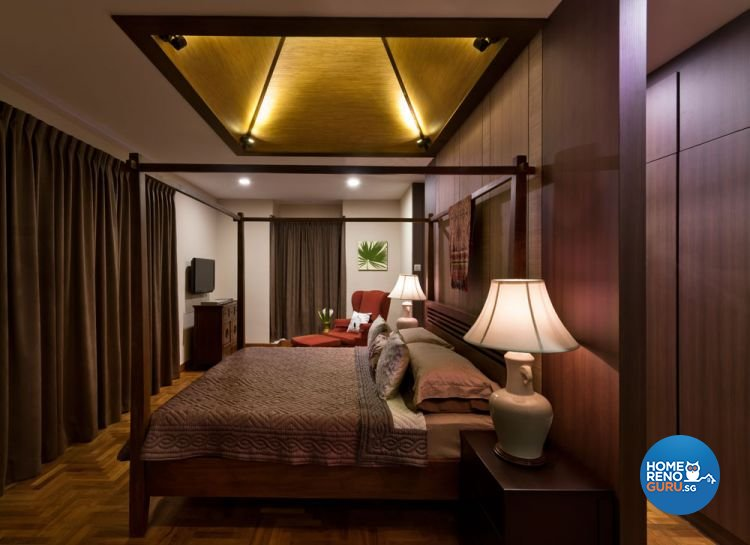 Contemporary, Modern Design - Bedroom - Landed House - Design by Space Factor Pte Ltd