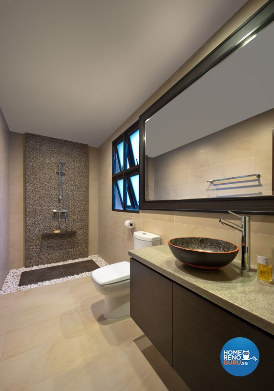 Contemporary, Modern Design - Bathroom - Landed House - Design by Space Factor Pte Ltd