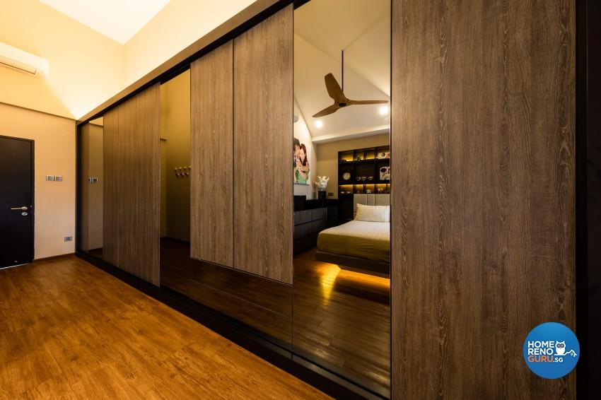 Scandinavian Design - Bedroom - Landed House - Design by Space Vision Design Pte Ltd
