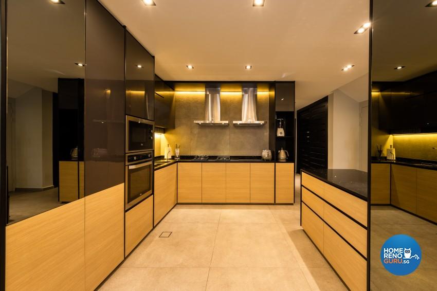 Scandinavian Design - Kitchen - Landed House - Design by Space Vision Design Pte Ltd