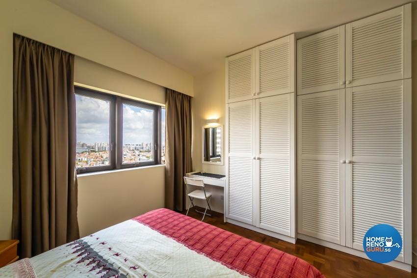 Country Design - Bedroom - Condominium - Design by Space Vision Design Pte Ltd