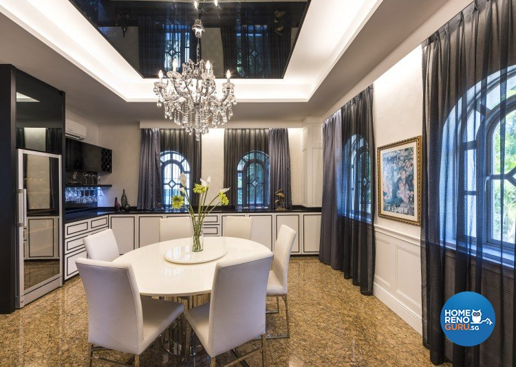 Contemporary, Modern Design - Dining Room - Landed House - Design by Space Vision Design Pte Ltd