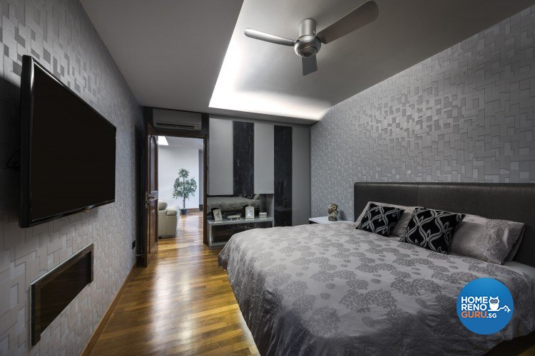 Contemporary, Modern Design - Bedroom - Landed House - Design by Space Vision Design Pte Ltd