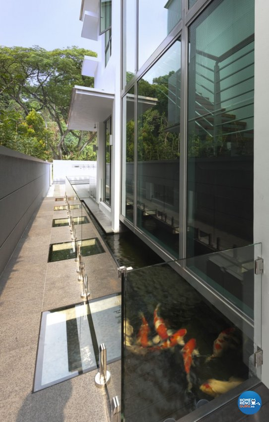 Eclectic, Modern Design - Balcony - Landed House - Design by Space Vision Design Pte Ltd