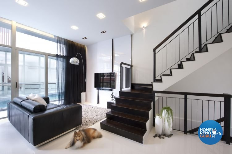 Minimalist, Modern Design - Living Room - Others - Design by Space Vision Design Pte Ltd
