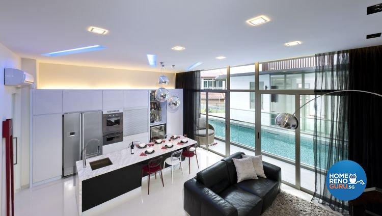 Minimalist, Modern Design - Dining Room - Others - Design by Space Vision Design Pte Ltd