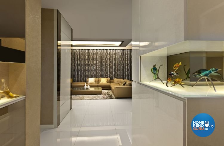 Contemporary, Modern Design - Living Room - Condominium - Design by Space Vision Design Pte Ltd